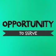 opportunity to serve