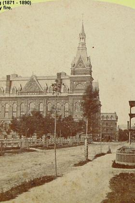 Lewiston's first City Hall (1871-1890)
