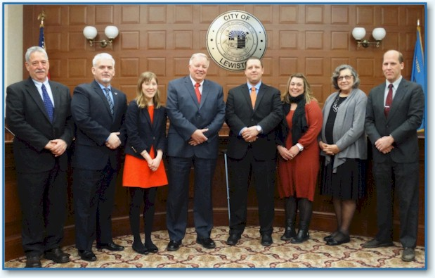 2016 Lewiston City Council Group Photo