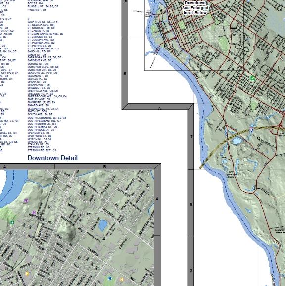 POI Map