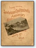 Centennial Souvenir Program Cover