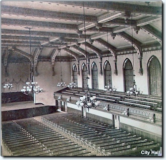City Hall 1872 interior