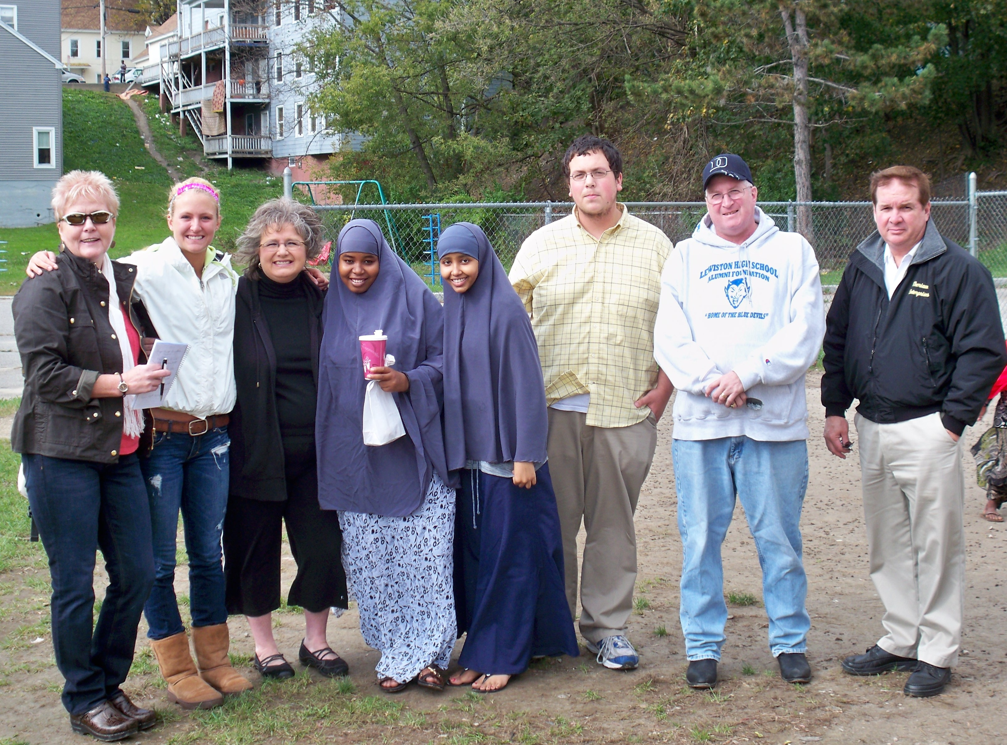 LYAC Visits Pierce Street Park