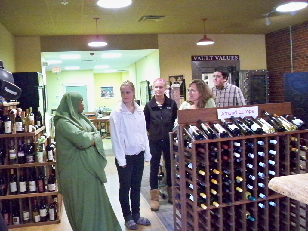 Visiting The Vault Wine Shop!