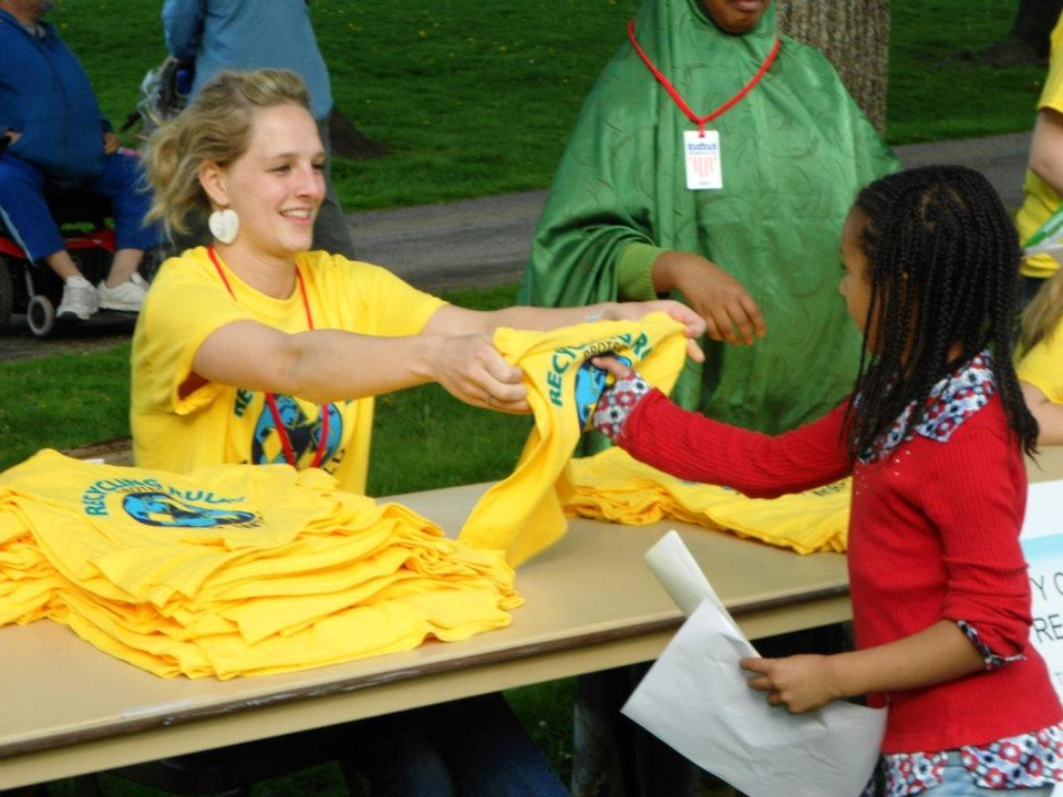 Recycling Shirts a Hit