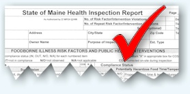 Health Inspection Form
