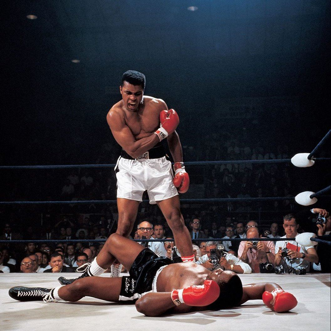 Mohamed Al vs. Sonny Liston Fight