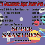 Super Smash Melee Tournament banner