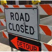 road closed - detour 2020